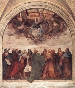 Rosso Fiorentino - Assumption of the viorgin