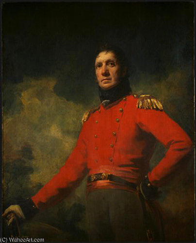 Order Art Reproduction : colonel francis james scott by Henry Raeburn Dobson | ArtsDot.com