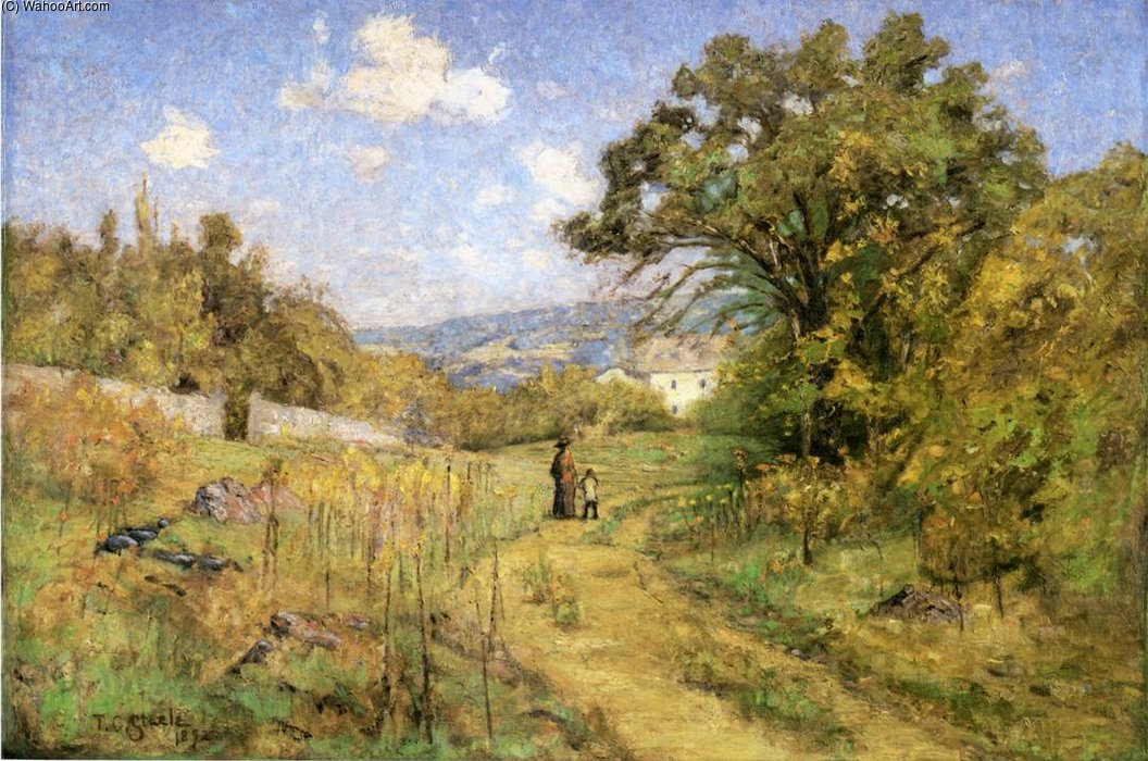 September ), 1892 by Theodore Clement Steele (1847-1926, United States) | Museum Quality Reproductions | ArtsDot.com