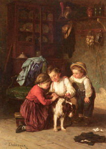 Theophile Emmanuel Duverger - The patient pet