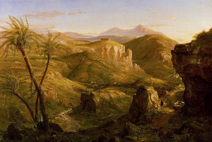 Thomas Cole - The Vale and Temple of Se..