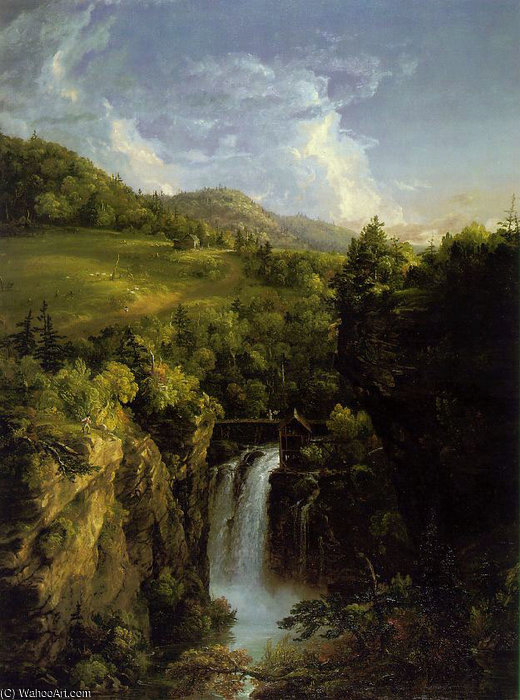 Genesee Scenery ATC by Thomas Cole (1801-1848, United Kingdom)
