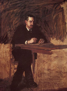 Thomas Eakins - Portrait of Professor Mar..