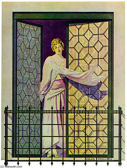 Untitled (818) by Coles Phillips (1880-1927, United States) | Reproductions Coles Phillips | ArtsDot.com