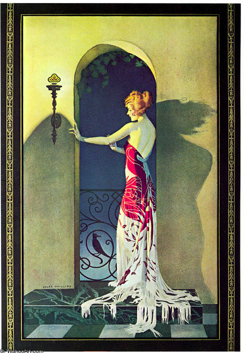 Untitled (153) by Coles Phillips (1880-1927, United States) | Museum Quality Reproductions | ArtsDot.com