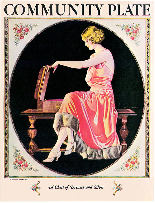 Order Painting Copy : Untitled (675) by Coles Phillips (1880-1927, United States) | ArtsDot.com
