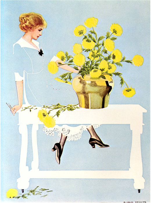 Untitled (517) by Coles Phillips (1880-1927, United States) | Museum Art Reproductions | ArtsDot.com