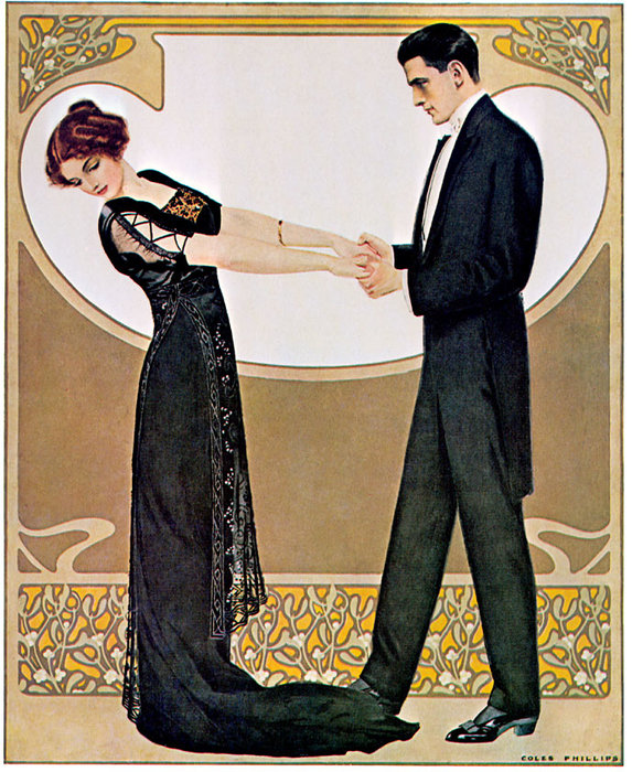 Untitled (307) by Coles Phillips (1880-1927, United States)