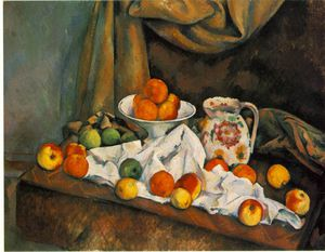Paul Cezanne - Compotier pitcher fruit