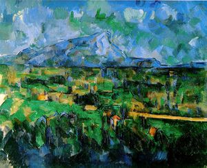 Paul Cezanne - Lauves - (799)