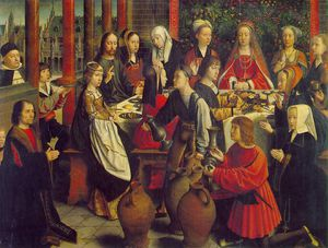 Gerard David - The marriage at Cana, ca Louvre