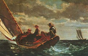 Winslow Homer - Breezing Up, oil on canvas, National Gallery of