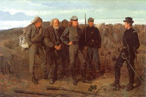 Winslow Homer - Prisoners from the Front, oil on canvas, Metropo