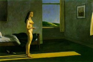 Edward Hopper - A Woman in the Sun, Whitney Museum of American
