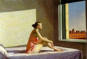 Edward Hopper - Morning sun, Columbus Mus..