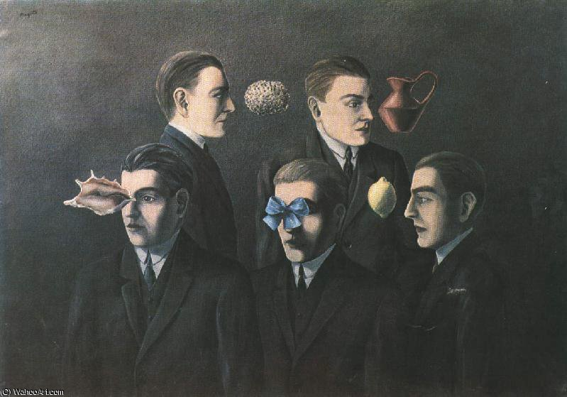 The familiar objects private, 1928 by Rene Magritte (1898-1967, Belgium)