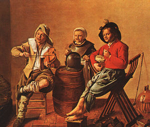 Jan Miense Molenaer - Two Boys and a Girl Making Music, NG London