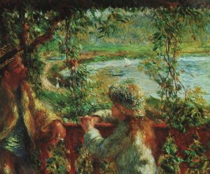 Pierre-Auguste Renoir - Near the Lake, Art Institute of Chicago