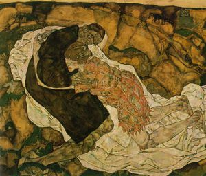 Egon Schiele - Death and the maiden, Oesterreichische Gale