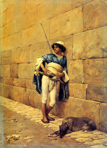 Charles Bargue - The sentry
