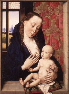 Dieric Bouts - Mary and Child