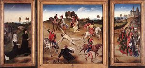 Dieric Bouts - St hippolyte triptych
