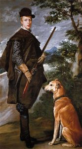 Diego Velazquez - Cardinal Infante Don Fernando as a Hunter