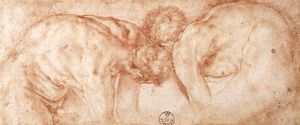 Jacopo Carucci (Pontormo) - two nudes compared