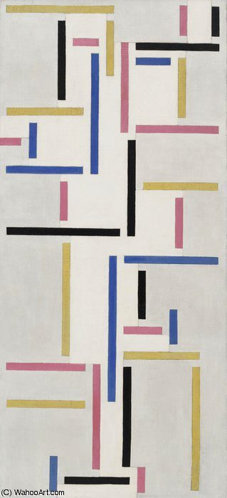 Rhythm of a Russian Dance by Theo Van Doesburg (1883-1931, Netherlands)