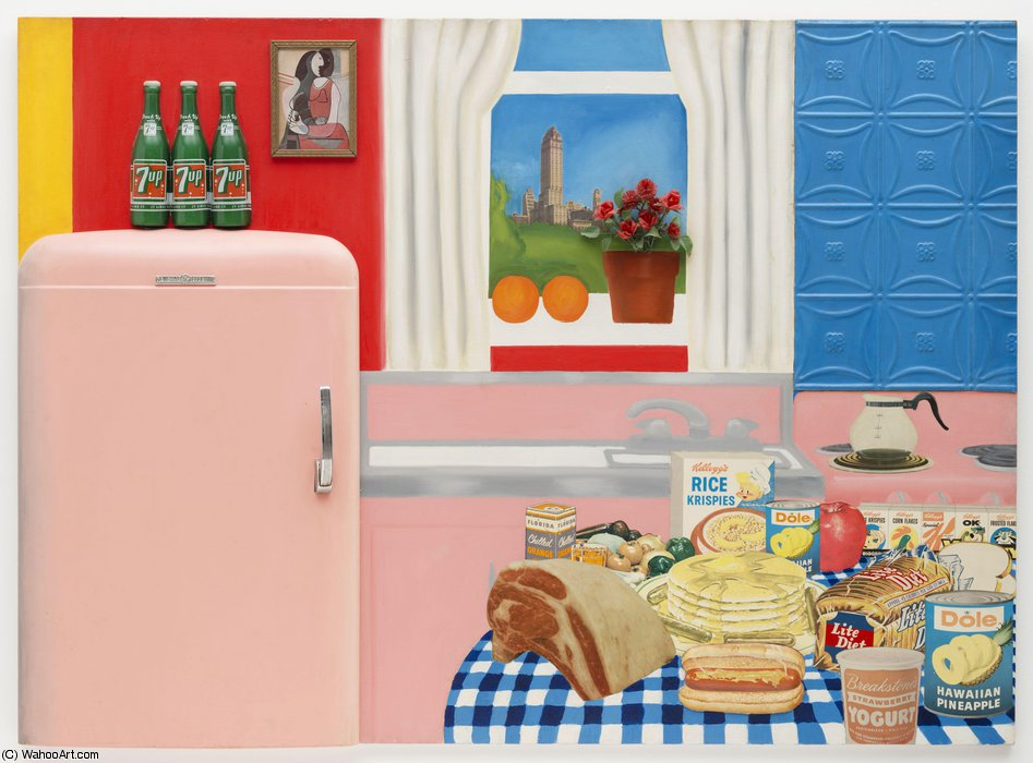 Still life #30 by Tom Wesselmann (1931-2004, United States) | ArtsDot.com