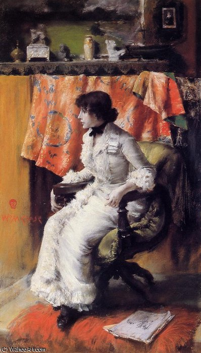 Virginia gerson by William Merritt Chase (1849-1916, United States)