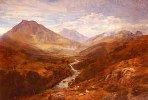 George Vicat Cole - A welsh landscape