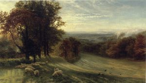 George Vicat Cole - Autumn morning