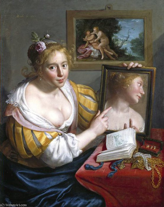 Untitled (857) by Paulus Moreelse (1571-1638, Netherlands)