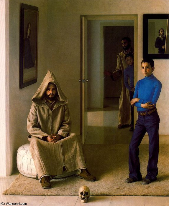 Untitled (980) by Claudio Bravo (1936-2011, Chile)