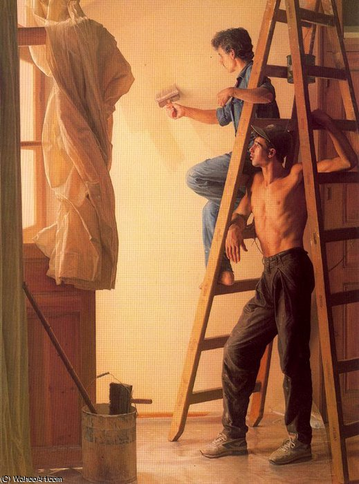 Untitled (105) by Claudio Bravo (1936-2011, Chile)