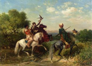 Georges Washington - The falconers