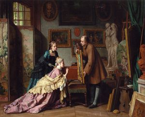 Jean Carolus - A Visit to the Studio