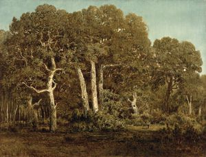 Theodore Roussel - The Great Oaks of Old Bas..