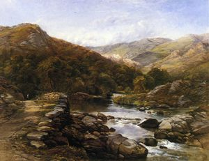Thomas Creswick - Over the Hills and Far Aw..