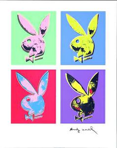 Andy Warhol - Bunny multiple - (2602619)