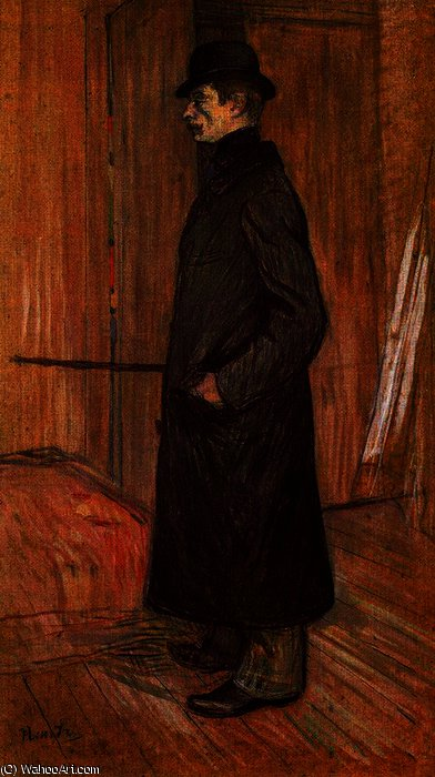 Gaston bonnefoy by Henri De Toulouse Lautrec (1864-1901, France)