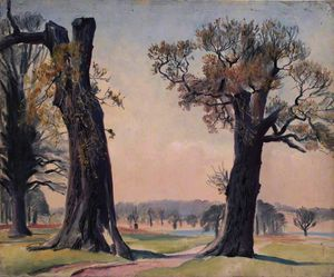 Dame Laura Knight - Richmond park