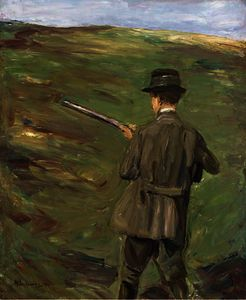 Max Liebermann - The hunter in the dunes