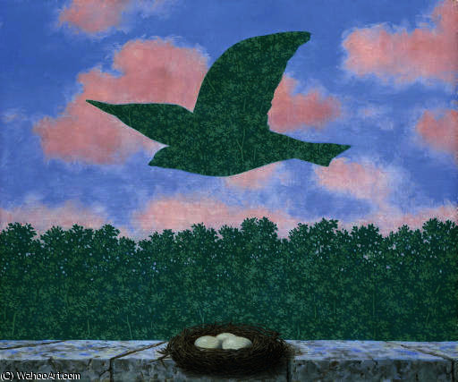 Buy Museum Art Reproductions : Le printemps by Rene Magritte (1898-1967, Belgium) | ArtsDot.com