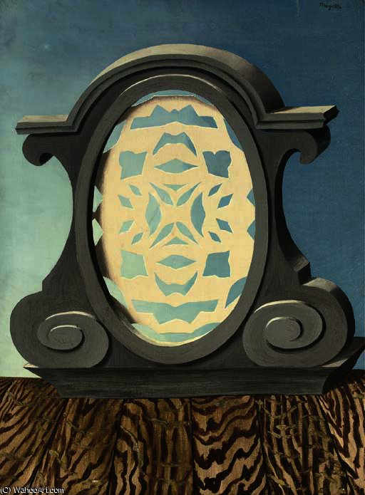 The end of time by Rene Magritte (1898-1967, Belgium) | ArtsDot.com