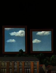 Rene Magritte - The walk of lovers