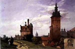 Alfred Gomersal Vickers - A View near Moscow