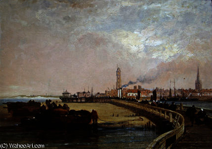 By the Docks, Calais by Arthur Joseph Meadows | Art Reproduction | ArtsDot.com