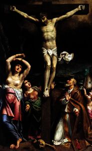 Bernardino Gatti - The crucifixion